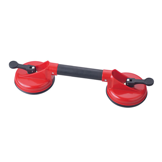 double suction cup, double cup suction lifter, double cup lifter, dual suction cup lifter, floor tile lifter double cup